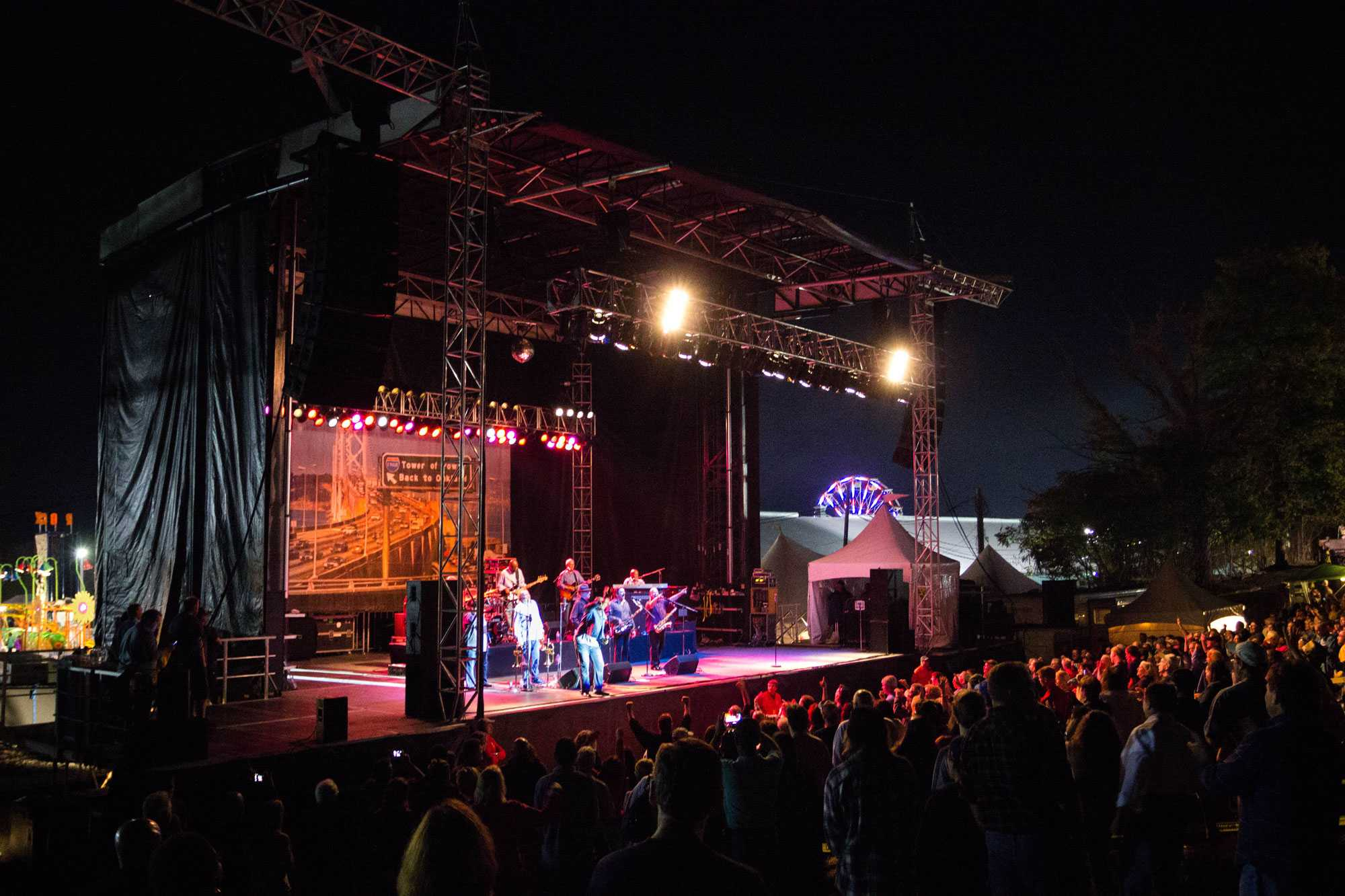 """Tower of Power rounds up their set with one of their older tracks, """"What is Hip"""" from their album """"Live And In Living Color"""" released in 1976.  Tower of Power will continue on their 2014 tour across the nation and Europe through November and December."""