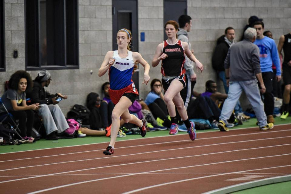 Track Duo Honored by CIAC