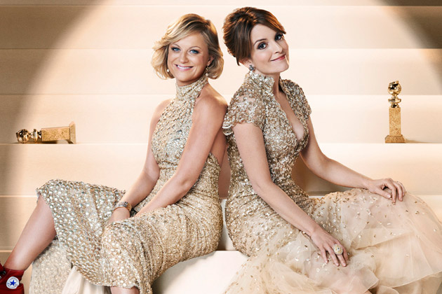 Amy Poehler and Tina Fey hosted the 2015 Golden Globes Awards.