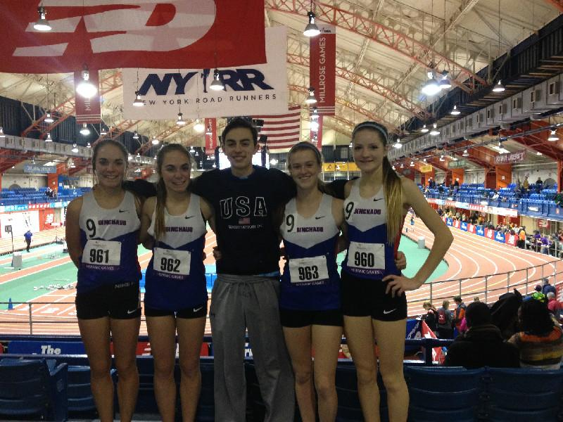 Indoor Track Shatters Records