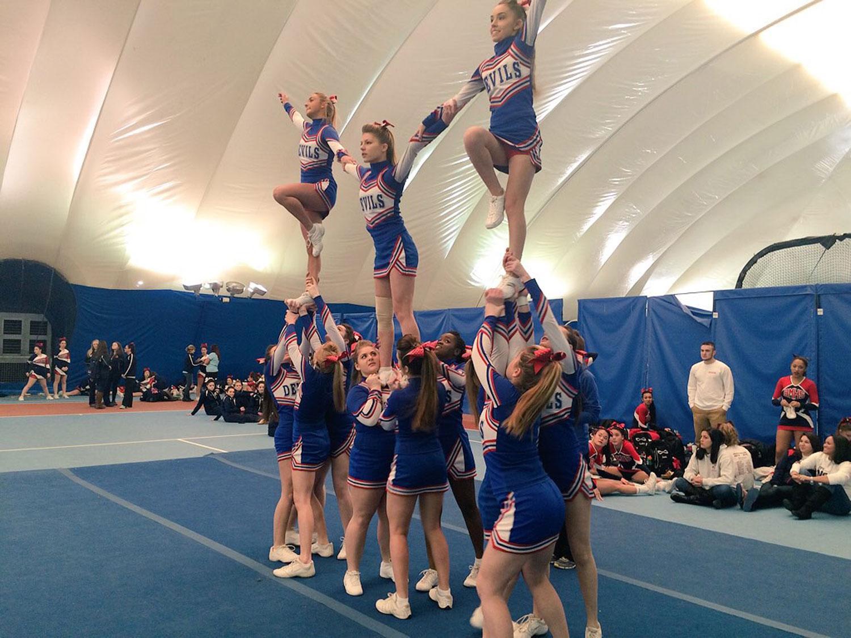 CRHS Cheer at NECA Championship