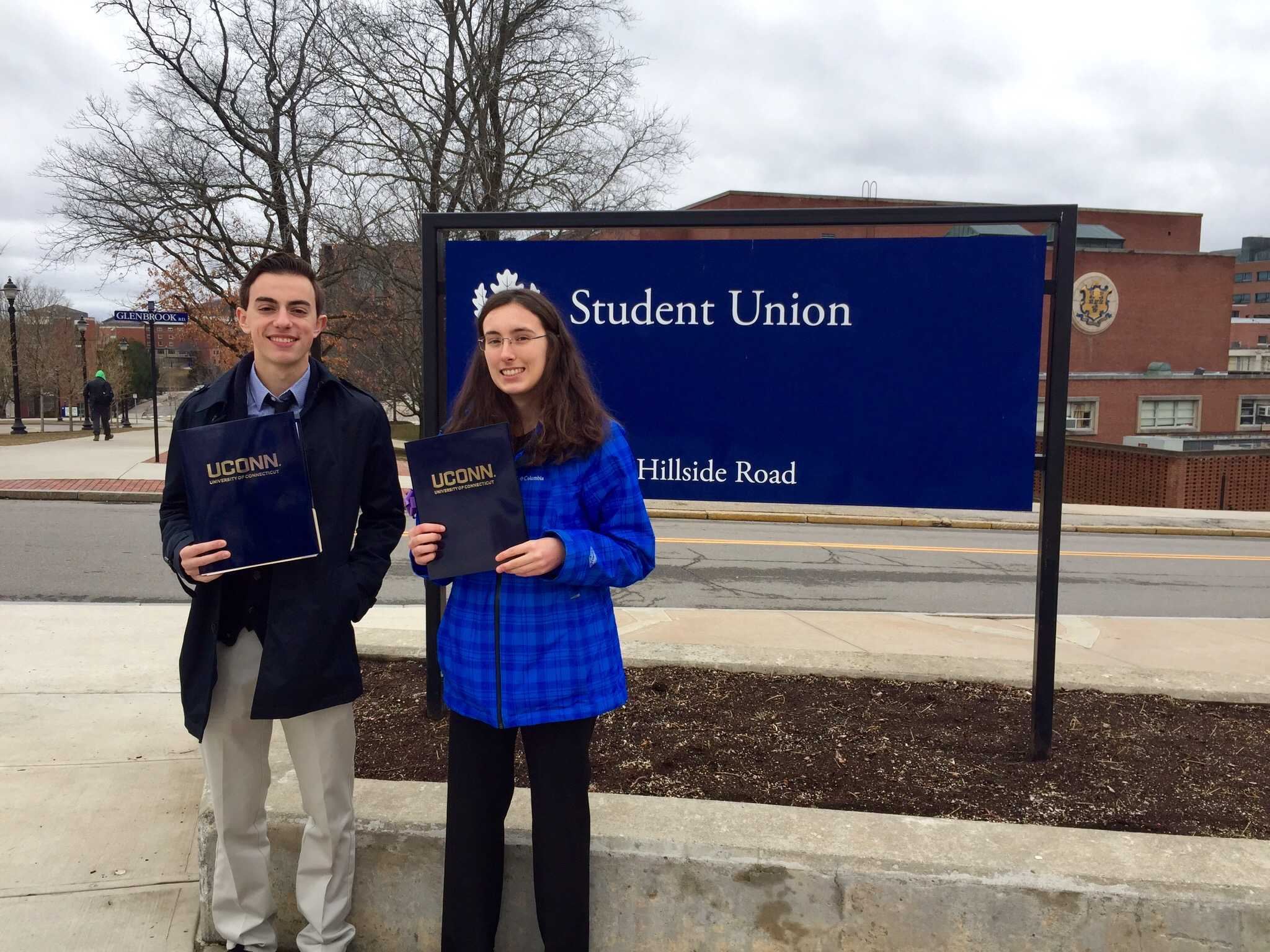 CRHS Represented at UConn Writing Conference
