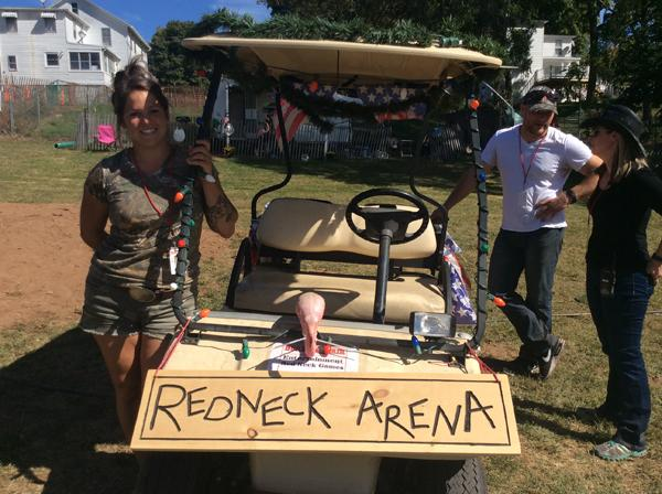 Redneck Arena Splashes at Durham Fair