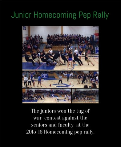 junior homecoming pep rally