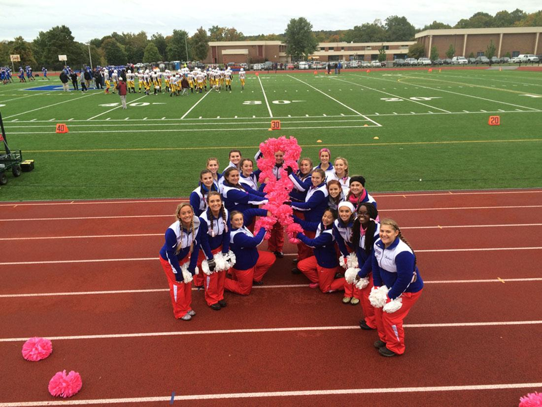 CRHS Cheer Raises $745 for Breast Cancer Center in Middletown, CT