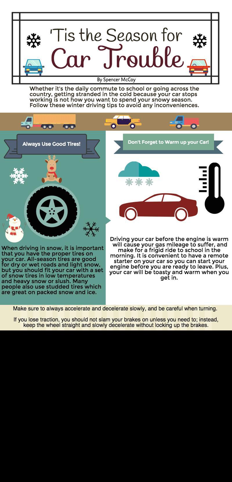 'Tis the Season for Car Trouble