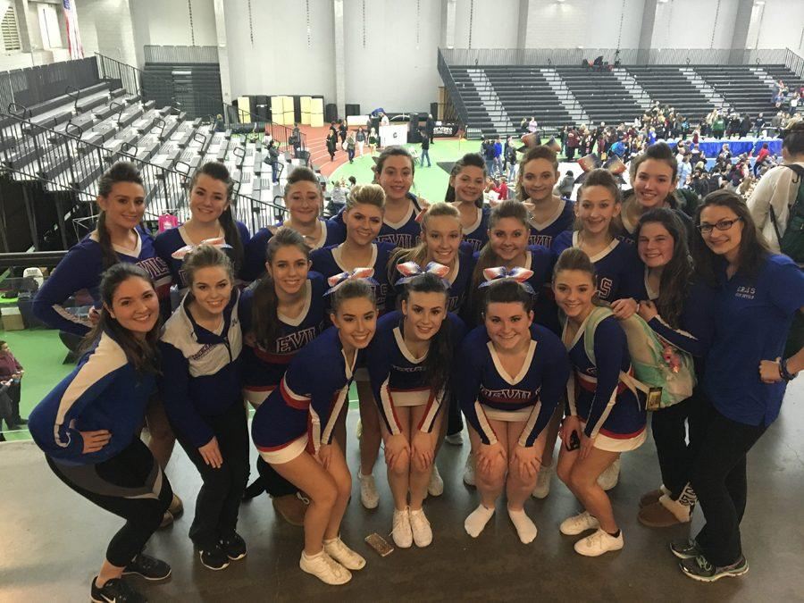 CRHS Cheerleading Team Places Higher than ever Before