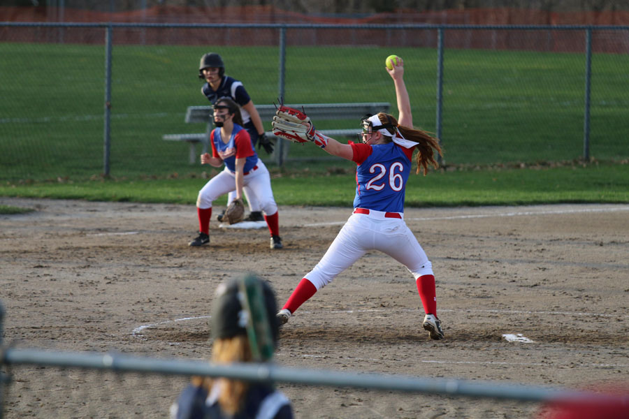 Girls Softball Undefeated at Home through Three