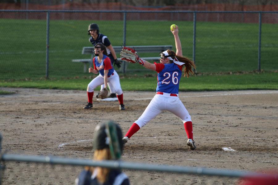 Girls Softball Undefeated at Home through Three