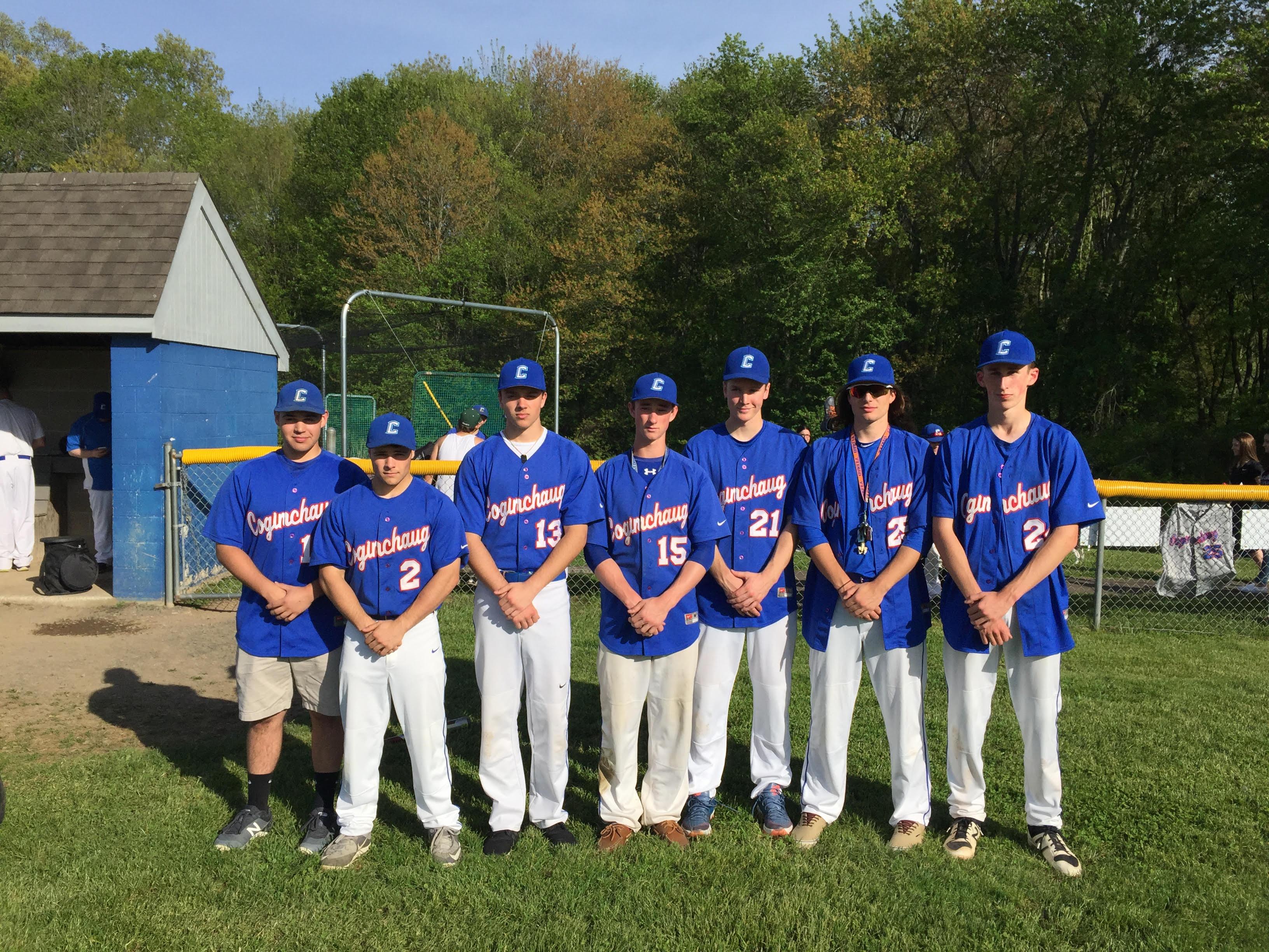 Coginchaug Baseball Celebrates Senior Night Against East Haven