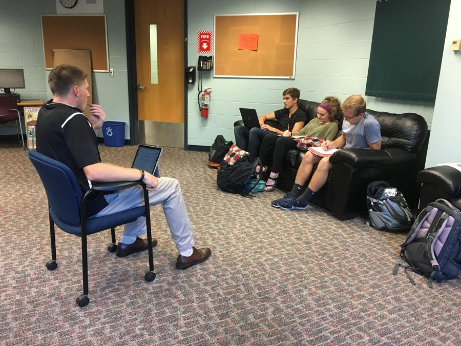 CRHS In the Midst of Developing a Career Center