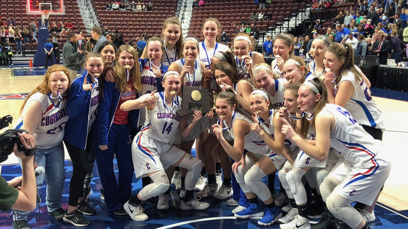 Girls Basketball Shines at Mohegan Sun; Named Class S Champions