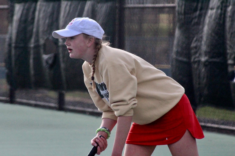 CRHS Girls Tennis: True Teamwork