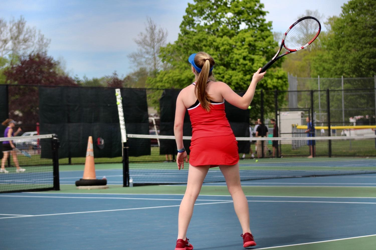Girls Tennis Prepared for Post-Season