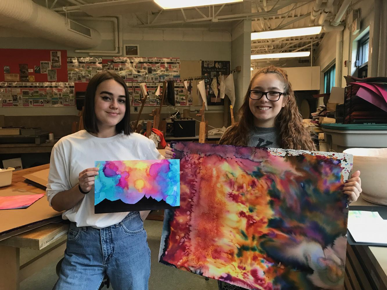 Music and Art Join Forces at CRHS