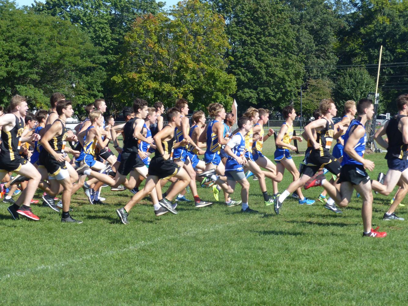 Boys Cross Country Pushes Towards Ambitious Season