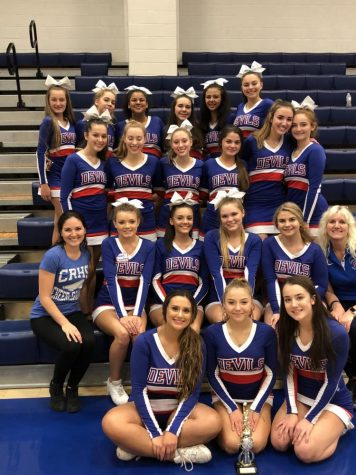Cheer Team Places Third at First-Ever Fall Competition