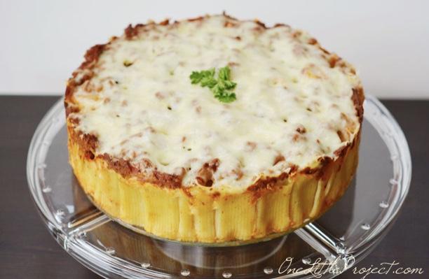 Italian Rigatoni Pie