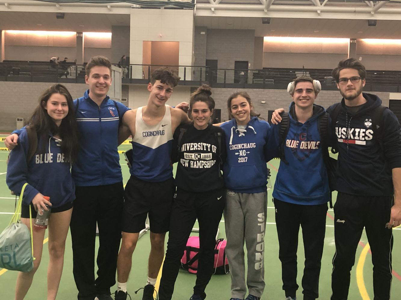 Coginchaug's Best Shine in Weekend Meets; Rovelli Breaks Record