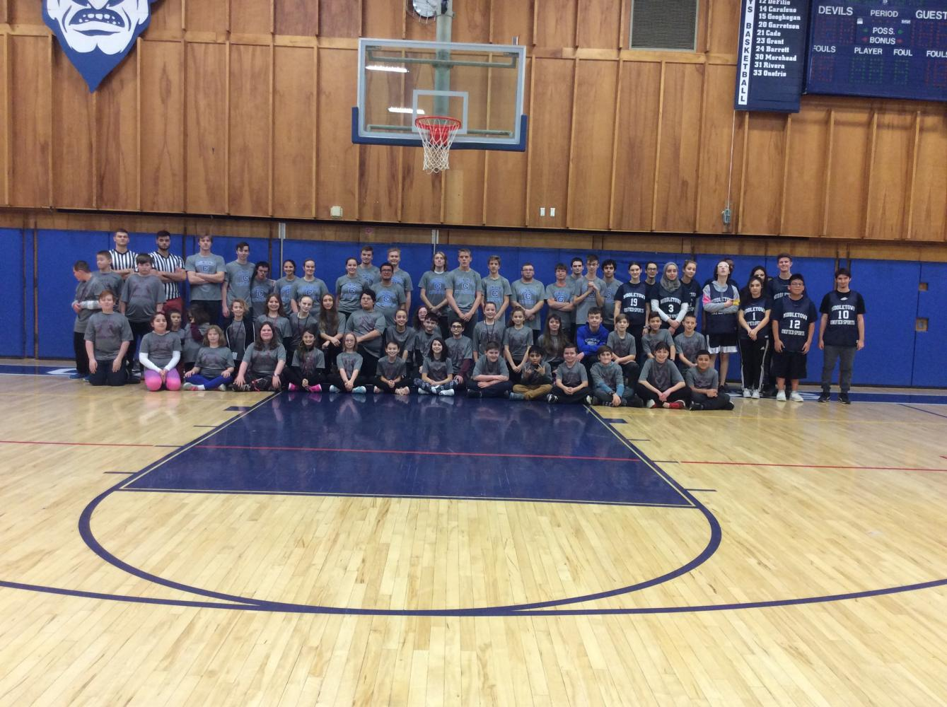 Unified Sports Wilda Castro Memorial Basketball Game