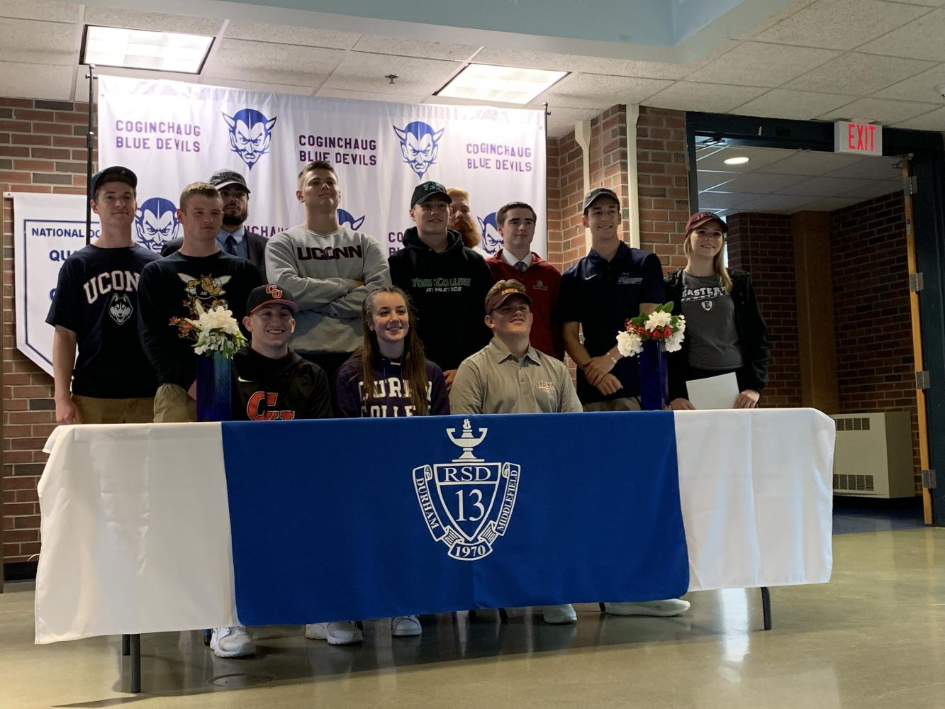 12 CRHS Student Athletes Commit to Play Their Sports In College