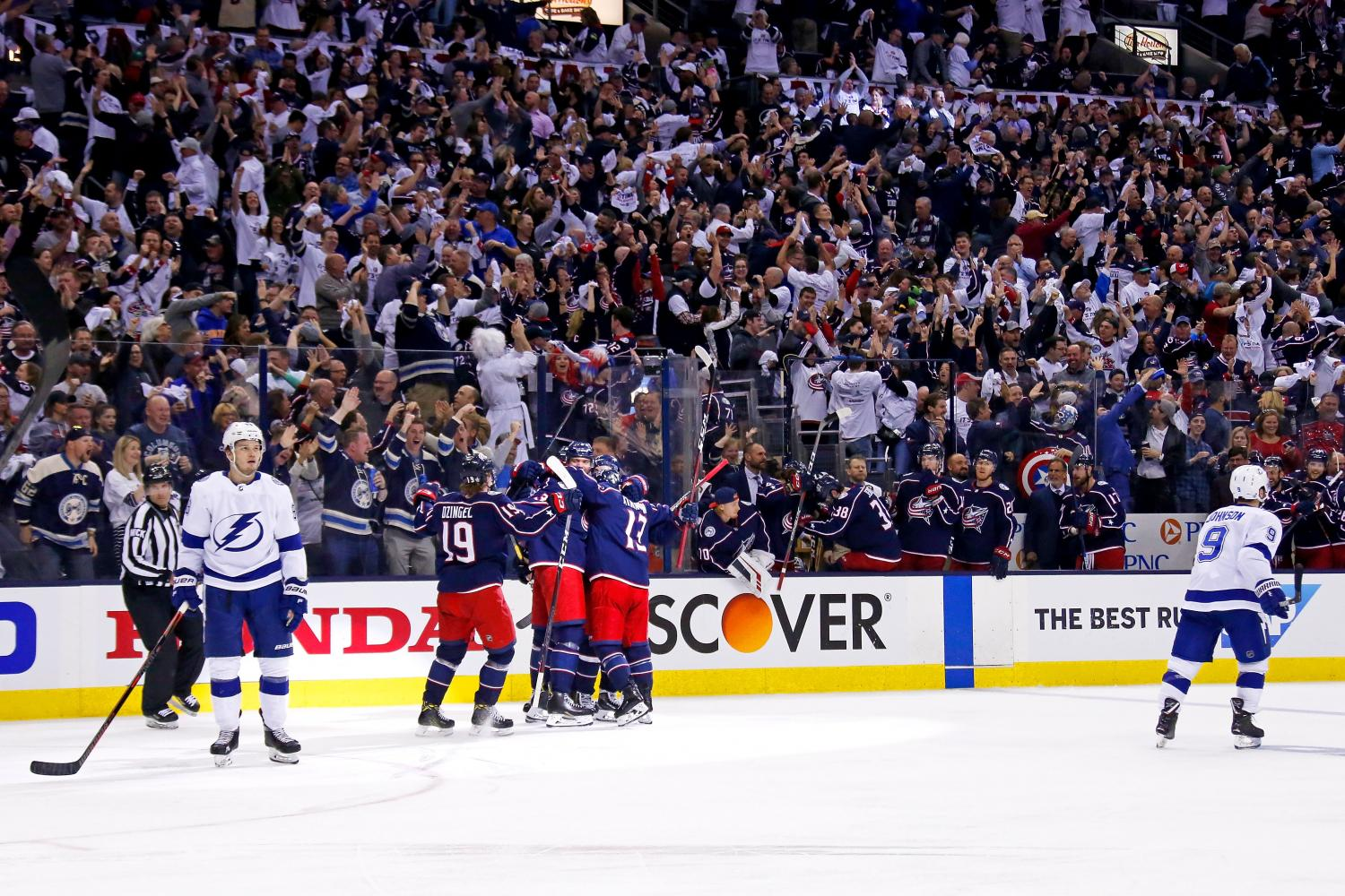 Thrilling First Round Leaves NHL Viewers Amped for Round Two