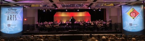 Music Department Achieves Goals at Annual Festival Disney