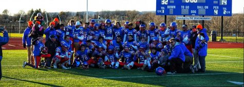 Coginchaug Football Wins Big Over Cromwell on Senior Day