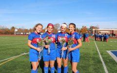 CRHS Girls Soccer Dominates on Senior Night