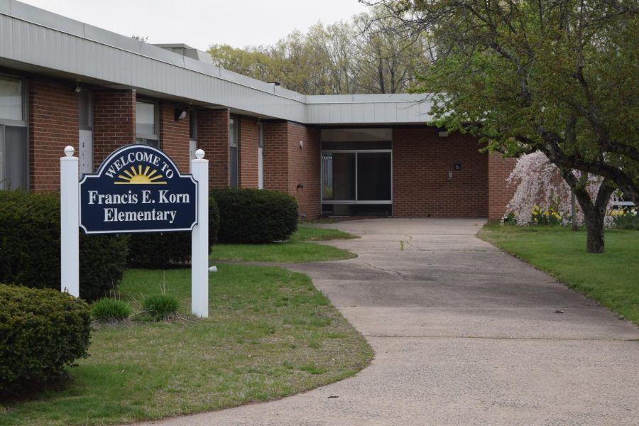 Francis E. Korn Elementary, April 24th, 2021.