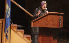 Representative Rosa DeLauro speaking on May 28th